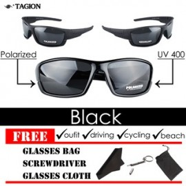 image of Original Tagion UV400 Polarized Lenses Men's Sunglasses