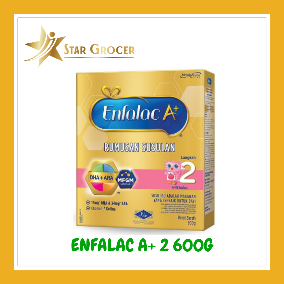 image of Enfalac A+ Step 2 - 600g / 900g / 1.2kg / 1.8kg
