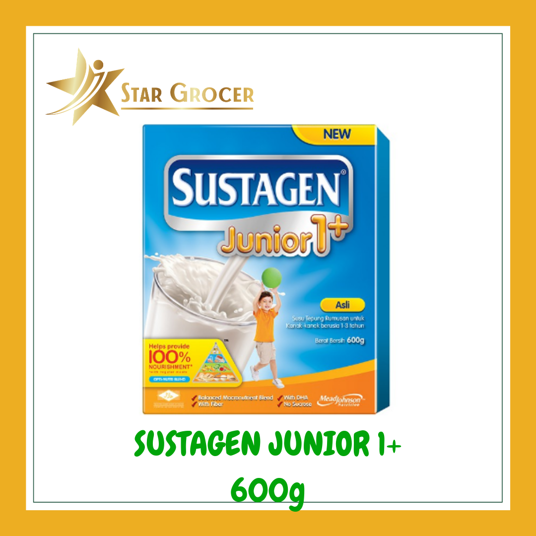 image of Sustagen Junior 1+ - 600g / 1.2kg