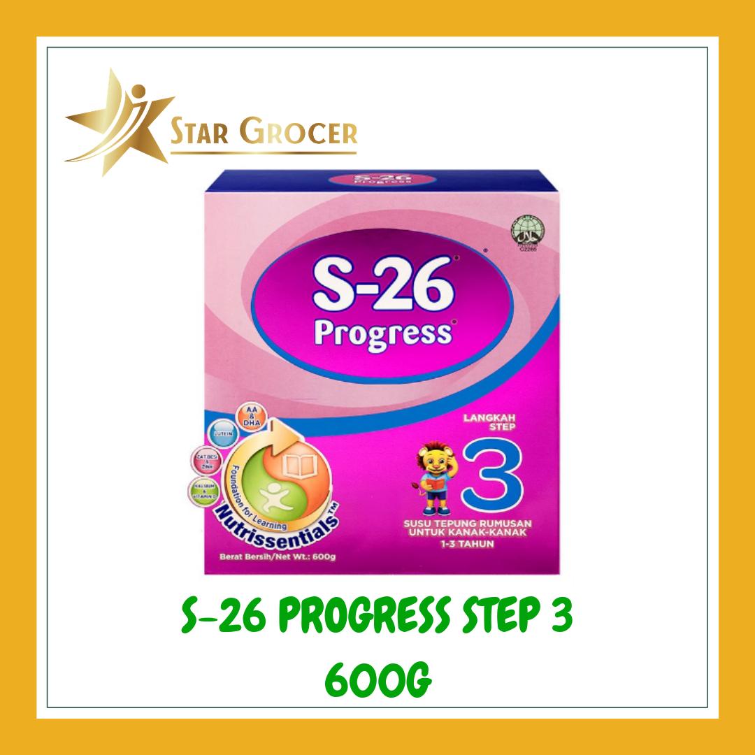 image of S26 Progress Step3 - 600g / 1.2kg / 1.8kg