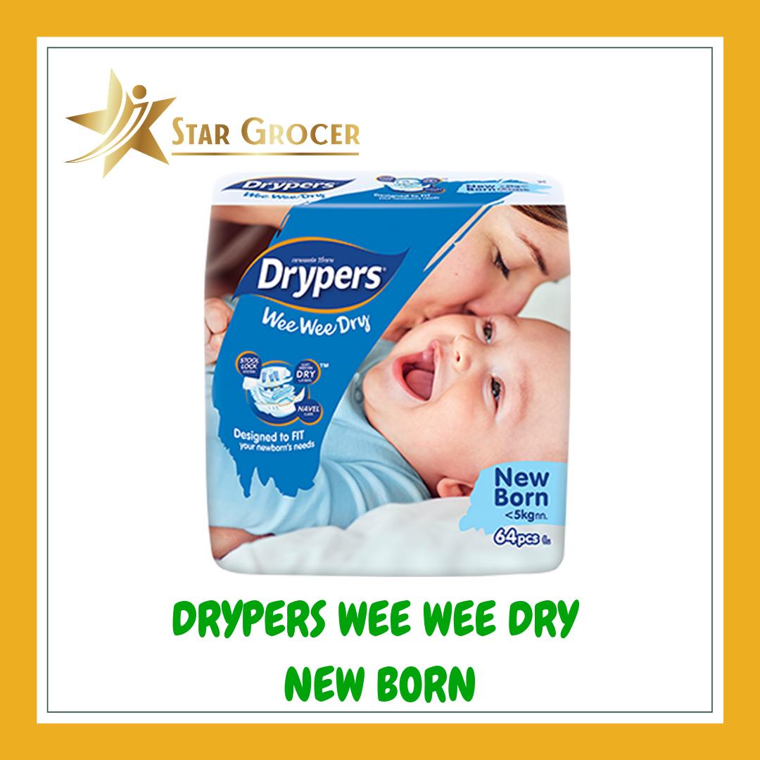 image of Drypers Wee Wee Dry Newborn 0-5 kg