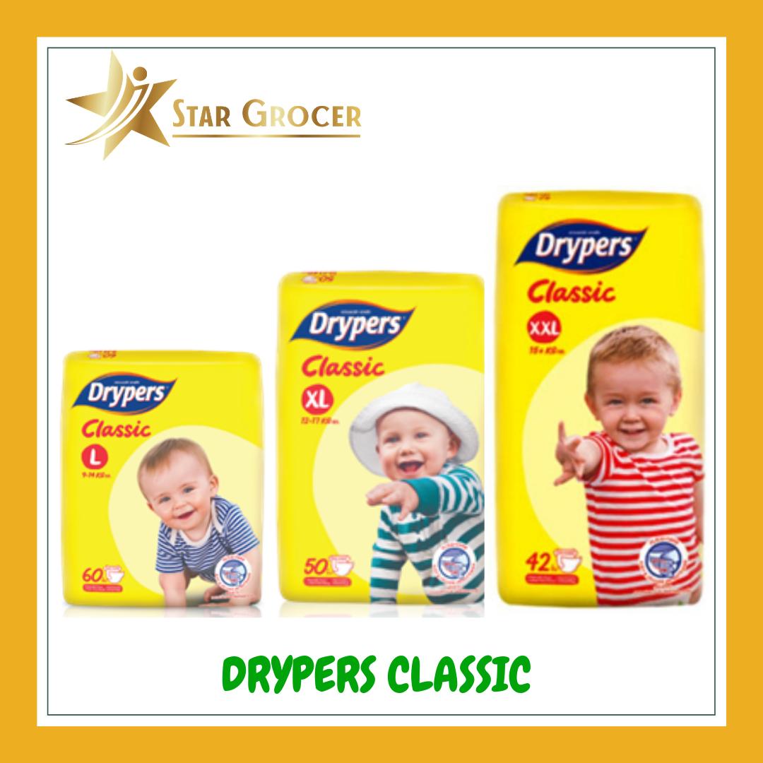 Drypers Classic - L / XL / XXL