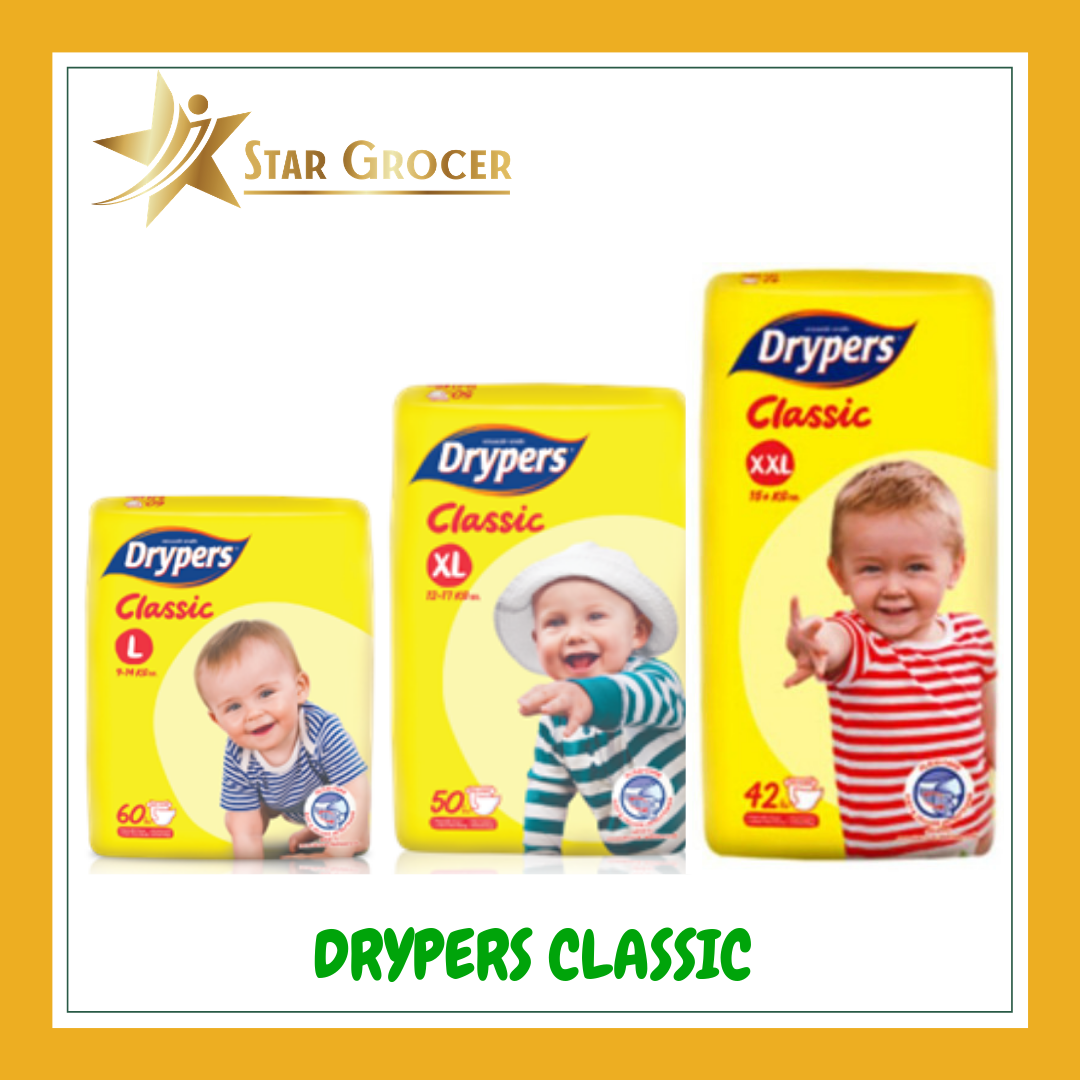 image of Drypers Classic - L / XL / XXL