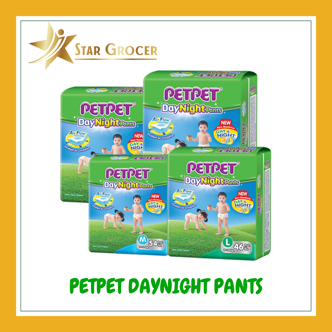 image of PetPet Day & Night Pants x 3 packs - M / L / XL / XXL
