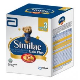 image of Similac Gain Plus Step 3 1.8KG *FREE 5x155g Sachets*