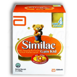 image of Similac Gain Kid Step 4 1.8kg