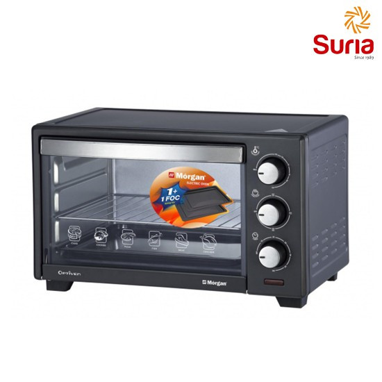 image of MIDEA 40L CONVECTION ELECTRIC OVEN MEO-40LGY-BK