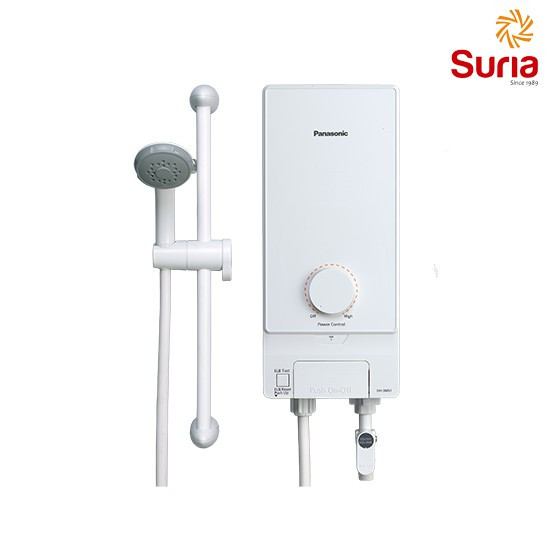 image of PANASONIC 3.6W NON-JET PUMP HOME SHOWER WATER HEATER PAN-DH-3MS1MW