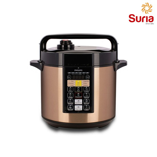 image of PHILIPS ELECTRIC PRESSURE COOKER HD2139