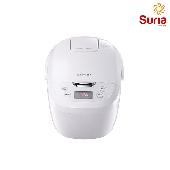 image of SHARP 1.8L DIGITAL RICE COOKER SHA-KSE185WH