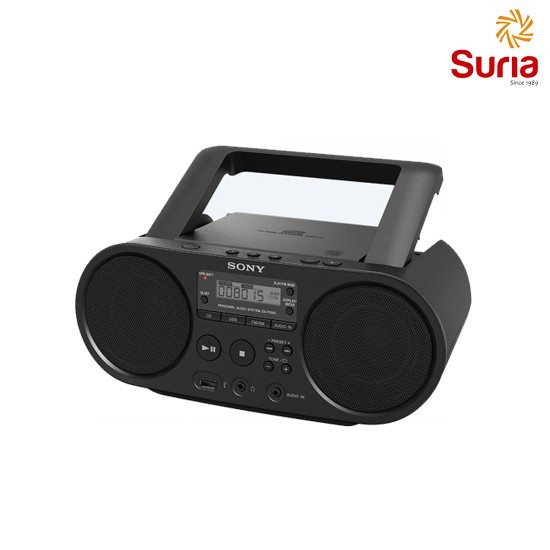 image of SONY CD RADIO COMBO BOOMBOX ZS-PS50