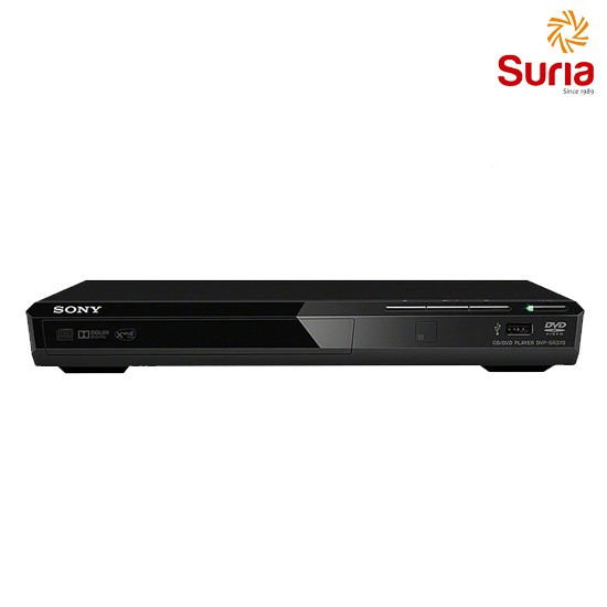 image of SONY DVD PLAYER WITH USB CONNECTIVITY