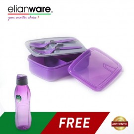 image of Elianware Lunch Box Container (1.3L) [FREE Water Tumble 1L BPA Free]