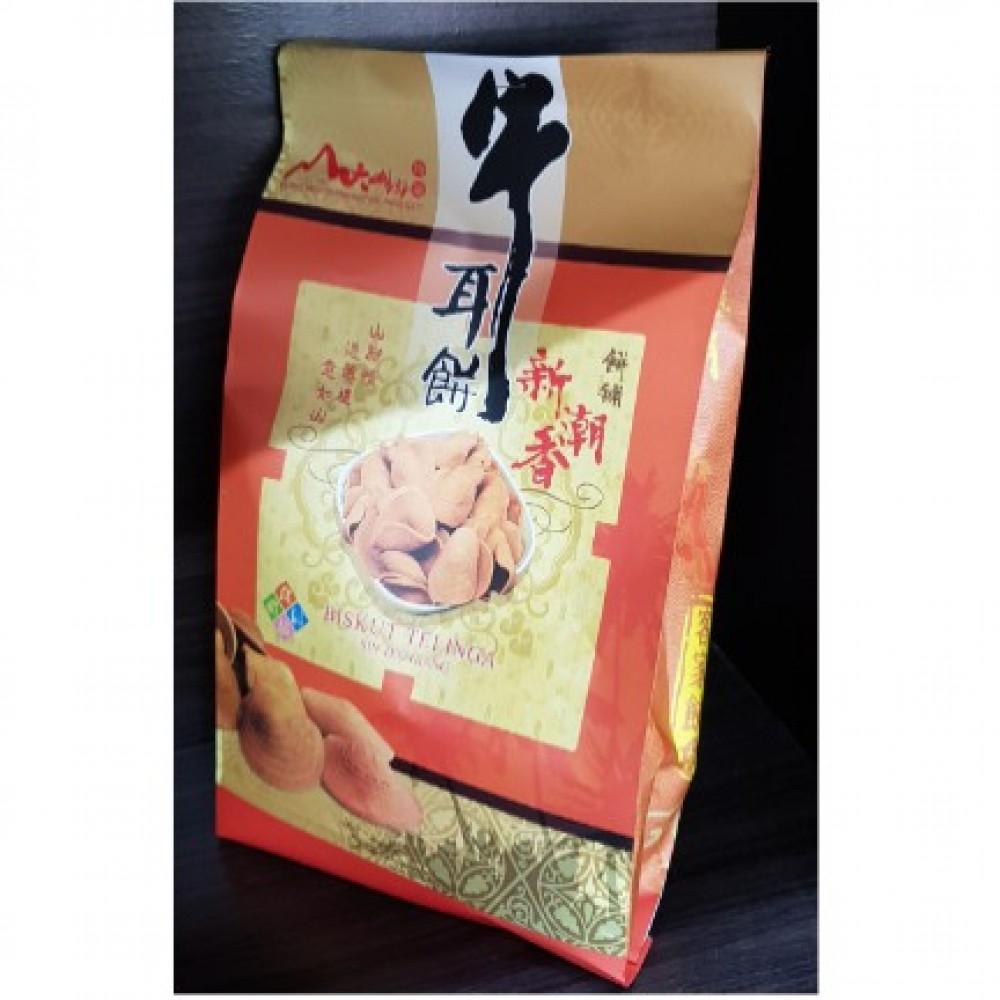 新潮香饼舖 Sin Teo Hiang Cow Ear Biscuit 牛耳饼