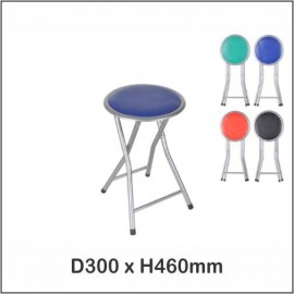 image of Folding Stool / Foldable Stool / Office Stool / Class Stool / Kerusi Lipat 1202