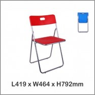 image of Folding Chair / Foldable Chair / Office Chair / Class Chair 1228