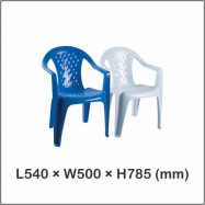 image of Twins Dolphin Arm Chair / Dinner Chair / Restaurant Chair 2005 (6pcs)