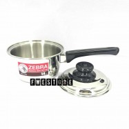 image of (100% Original) Zebra Stainless Steel 14cm Sauce Pan - Carry