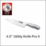 "(100% Original) Zebra Stainless Steel 4.5"" Utility Knife - Pro II"