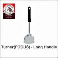 image of (100% Original) Zebra Stainless Steel 35.5cm Focus Long Handle Turner