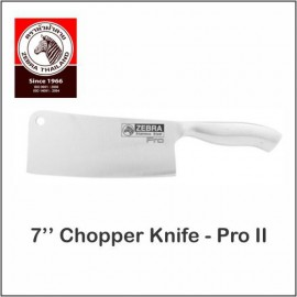 "image of (100% Original) Zebra Stainless Steel 7"" Pro II Chopper Knife"
