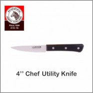 "image of (100% Original) Zebra Stainless Steel Chef Utility Knife (4"" / 5"")"