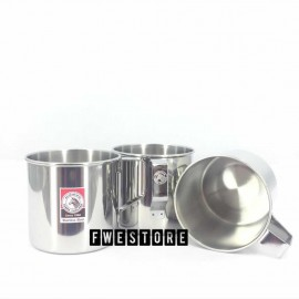 image of (100% Original) Zebra Stainless Steel 8cm Mug Set (3PCS)