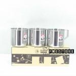 (100% Original) Zebra Stainless Steel 8cm Mug Set (3PCS)