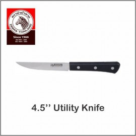 "image of (100% Original) Zebra Stainless Steel 4.5"" Utility Knife"