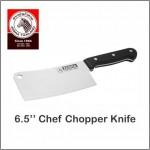 "(100% Original) Zebra Stainless Steel Chef Chopper Knife (6.5"" / 7.5"")"