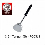 "image of (100% Original) Zebra Stainless Steel 3.5"" Turner (S) - FOCUS"