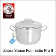 image of (100% Original) Zebra Stainless Steel Sauce Pot - Estio Pro II (18/20/22/24cm)