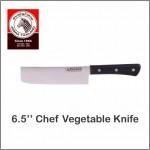 """(100% Original) Zebra Stainless Steel 6.5"""" Chef Vegetable Knife"""