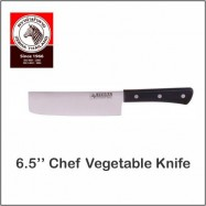 "image of (100% Original) Zebra Stainless Steel 6.5"" Chef Vegetable Knife"