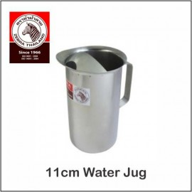 image of (100% Original) Zebra Stainless Steel 11cm Water Jug 1.5L