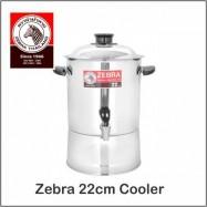 image of (100% Original) Zebra Stainless Steel 22cm / 24cm / 26cm / 28cm Cooler