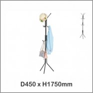 image of Harmoni Clothes Hanger / Clothes Tree / Towel Hanger / Bag Hanger 7955