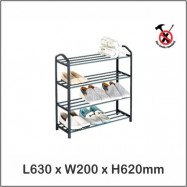 image of Harmoni Shoe Rack 4 Layer / 5 Layer