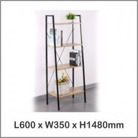 image of Multi Purpose Shelf 4 Tier / Living Room Shelf / Bookshelf 1501
