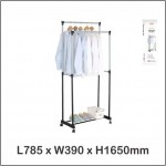 Harmoni Garment And Shoe Rack / Cloth Rack / Cloth Hanger 1163