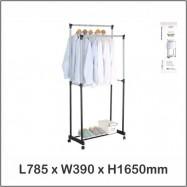 image of Harmoni Garment And Shoe Rack / Cloth Rack / Cloth Hanger 1163