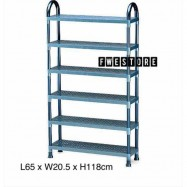 image of Lion Star Shelf Stand 6 Tier / Shoe Rack / Bookshelf / Document Rack A-49