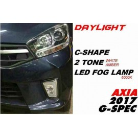 image of Perodua Axia 2017 G Spec Daylight Fog Lamp Signal Led