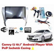 "image of 2012~2014 TOYOTA CAMRY OEM 10"" Android  WiFi GPS MP5 Player (NO DVD)"