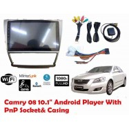 "image of 2008~2011 TOYOTA CAMRY OEM 10"" Android WiFi GPS MP5 Player(NO DVD)"