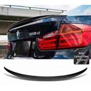 image of BMW F30 MP Style Carbon Fiber Car Body Kit Rear Trunk Spoiler Lip Wing