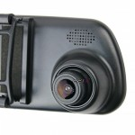"【Ready Stock】NAKAMICHI ND18 4.3"" LCD Dual Cam 720p HD Car Dash Video Driving Recorder DVR"