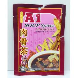 image of A1 SOUP SPICES REMPAHAN SUP 肉骨茶汤料 35G