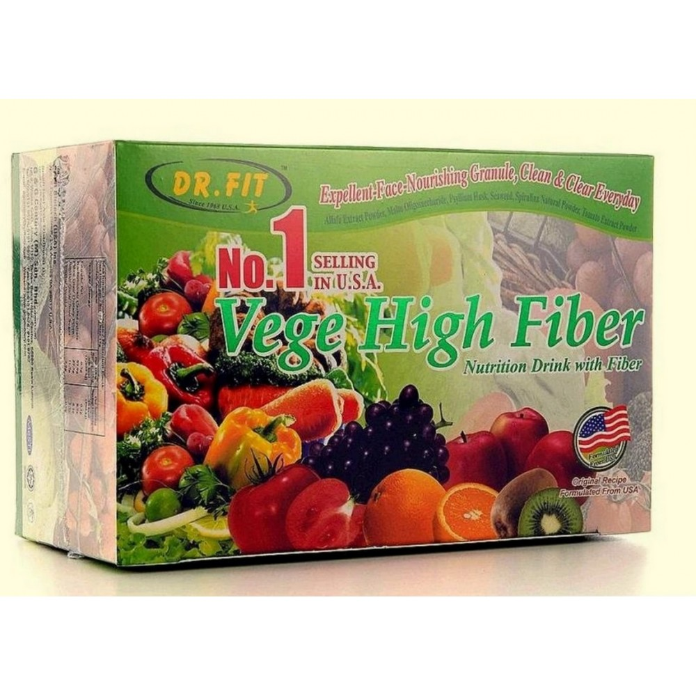 Dr. Fit Vege High Fiber(12gx 15packs)