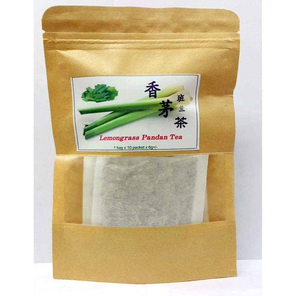 HOMEMADE LEMONGRASS PANDAN TEA 6GX10'S